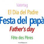 La Festa del Papà