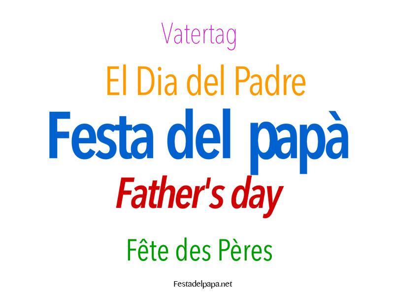festa-papa-varie-lingue