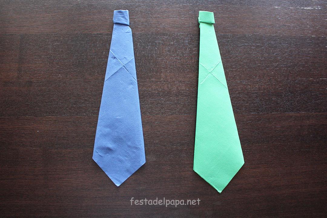 cravatte con tovaglioli